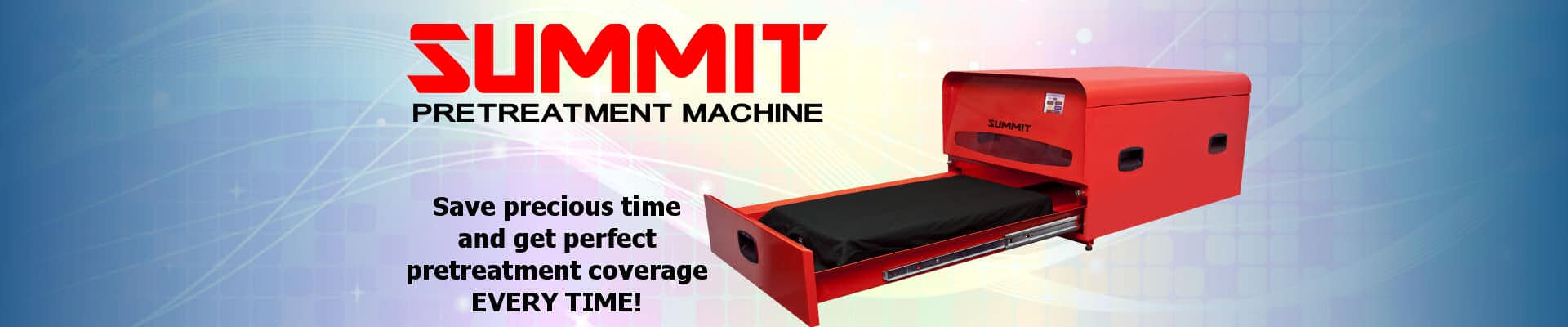 Summit DTG Pretreatment Machine